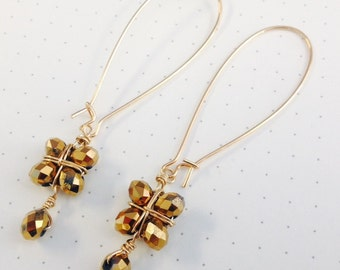 Golden Afternoon Earrings