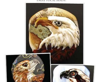 NEW Eagle Lampwork Tutorial by Kerribeads - Instant Download PDF file