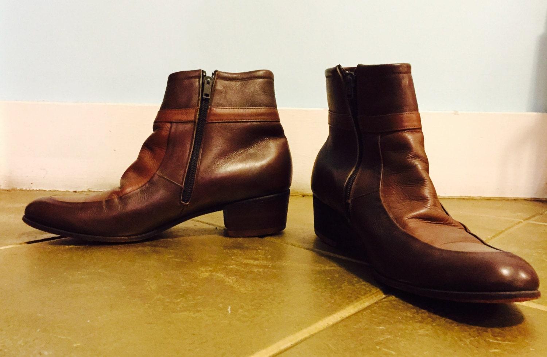 vintage 60 s beatle boots size 9 5 us