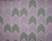 Concord house, geometric in Grey and pink, yard