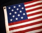 Vintage Fort Wm McHenry Flag