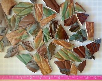 Mosaic Tiles --Jasper---Large pieces--43 Pieces-Sale