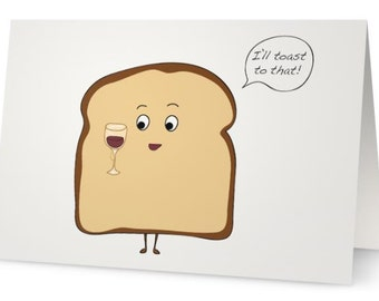 Toasting Toast- Congratulations!