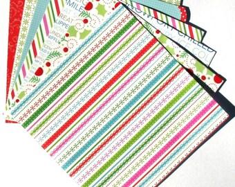 Jolly Christmas - 6x6 Doodlebug Design Paper Pack - LAST SET