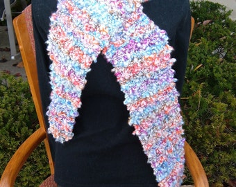 Super Sale -Red Berries - 89 inch x 7 inch Knitted Scarf - FREE SHIPPING