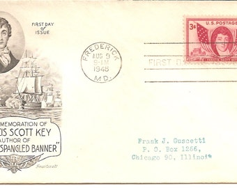 1944 First Day Issue Francis Scott Key