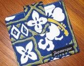 Credit, Gift, Store Card Wallet Hawaiian Islands Hibiscus Design Fabric