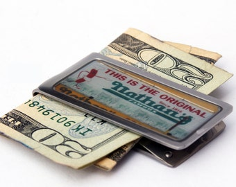 MONEY CLIP - Moneyclip - Billfold - Nathan's Money Clip - Father's Day Gift - Graduation Gift