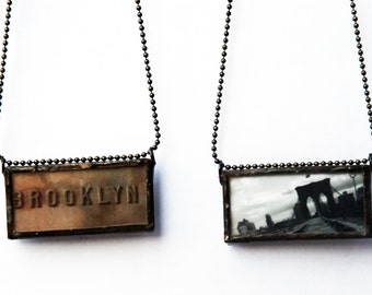 BROOKLYN PENDANT -Brooklyn Bridge Pendant