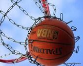 Sports decor, basketball photo, basketball art