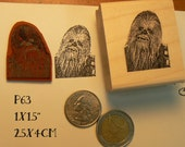 P63 Chewbacca rubber stamp