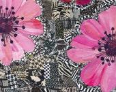 pink + white + black (8x10 print)