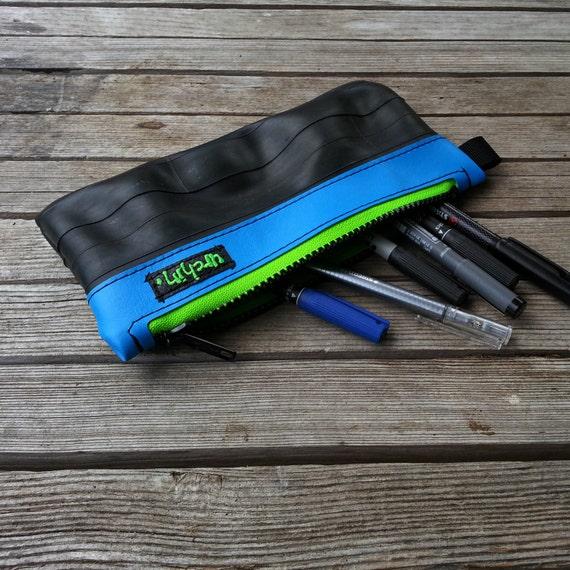 Bike Tube Pencil Case - Recycled Bike Tube - Eco Friendly Pouch