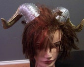 Ombre Holiday Horns New Years Chinese New Year Ram Renaissance Festival