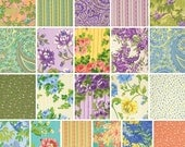 40% Off + Free Ship SALE April Cornell GLORIOUS GARDEN Fat Quarters 21 Precut Cotton Fabric Quilting FQs Free Spirit
