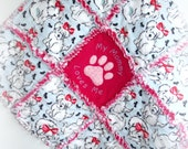 "Rag Quilt for Pet ""My Mommy Loves Me"""