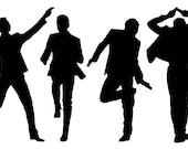 Custom Car Decal - Dance - Tom Hiddleston Reserved for Robin L DeSpain
