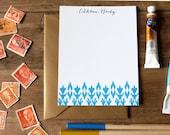 Ikat Personalized Flat Notes - Set (10)