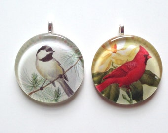 SALE Ornament - Chickadee OR Cardinal (Packaged)
