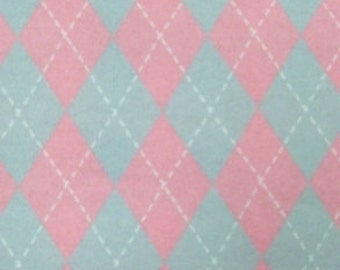 PINK ARGYLE flannel lounge pants/pajama pants children's sizes 0-3 to 16.  Contact me for adult sizes to 3x
