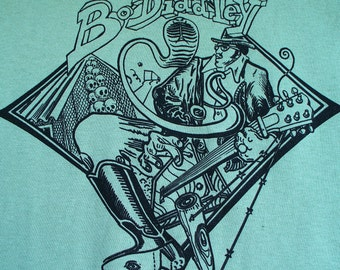 Bo Diddley 'Who do You Love' print