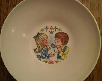 Sweet Little Vintage Kids Bowl