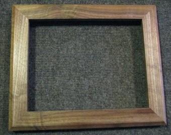 8x10 Black Walnut Sap Wood Picture Frame