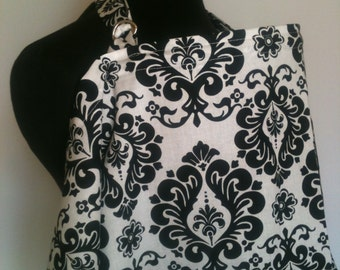 Nursing Cover, Breastfeeding Feeding Cover up, Nursing cover up, Black Wallflower