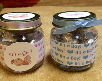 Reserved Favors, Baby Shower Favors, Baby Food Jars, Baby Food,  Baby Jars, Favor Boxes