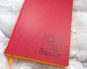 Classic Winnie The Pooh Mini Notebook / Journal Lined Pages featuring Pooh and Christopher Robin Best Friends