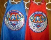 PAW  Patrol Super Hero Cape  - personalized