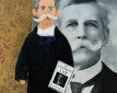 Oliver Wendall Holmes Jr. Doll Miniature Historical Character Art