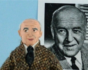 William Frawley Doll Miniature Art Vintage 1950s Television Star