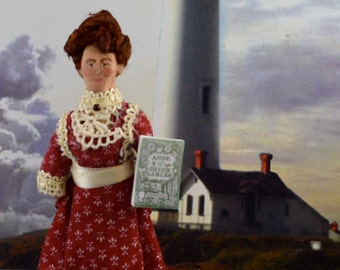 Anne of Green Gables Author Lucy Maude Montgomery Miniature