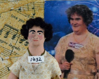 Susan Boyle Doll Miniature As Seen on the Today Show