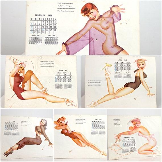 Pin Up Calendar Vintage : Vintage pin ups s petty girls