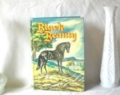 Vintage Book Black Beauty Classic Children's Book Horse Story