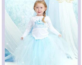 3 Pc Girls Frozen Outfit Frozen Birthday Outfit Princess Elsa Costume Little Girls Frozen Dresses 5 6 Year