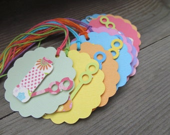 Blowing Birthday Wishes to You Birthday Bubbles Tag Set of 6