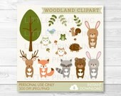 Woodland Forest Animal Cl...