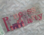 Jolee's Boutique Title Waves PRINCESS PARTY Sticker Embellishments CLEARANCE