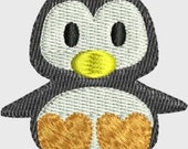 INSTANT DOWNLOAD Mini Penguin Embroidery designs