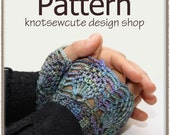 Lacy Cuffs - Crochet Pattern (PDF) - INSTANT DOWNLOAD