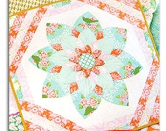 Heather Bailey Prize Bloom Quilt Sewing Pattern, FREE SHIPPING