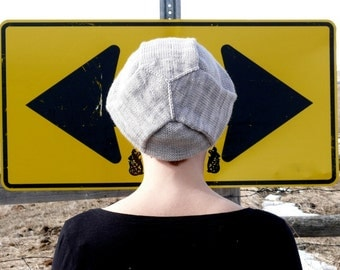 KNITTING PATTERN- Three Way Stop Hat PDF Download