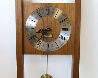 Wood wall clock Etsy