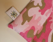 Rice Filled Heat Pack Pink Camo