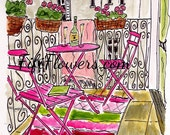Dream Parisian Balcony