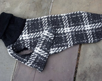 The Mirabelle Winter Coat for a Greyhound - to be custom-sized, custom-made