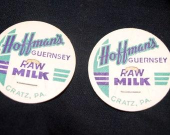Hoffman's Dairy Raw Milk Milk Caps Gratz, Pa